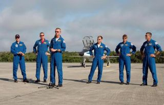 Atlantis Shuttle Crew Returns to Florida Spaceport