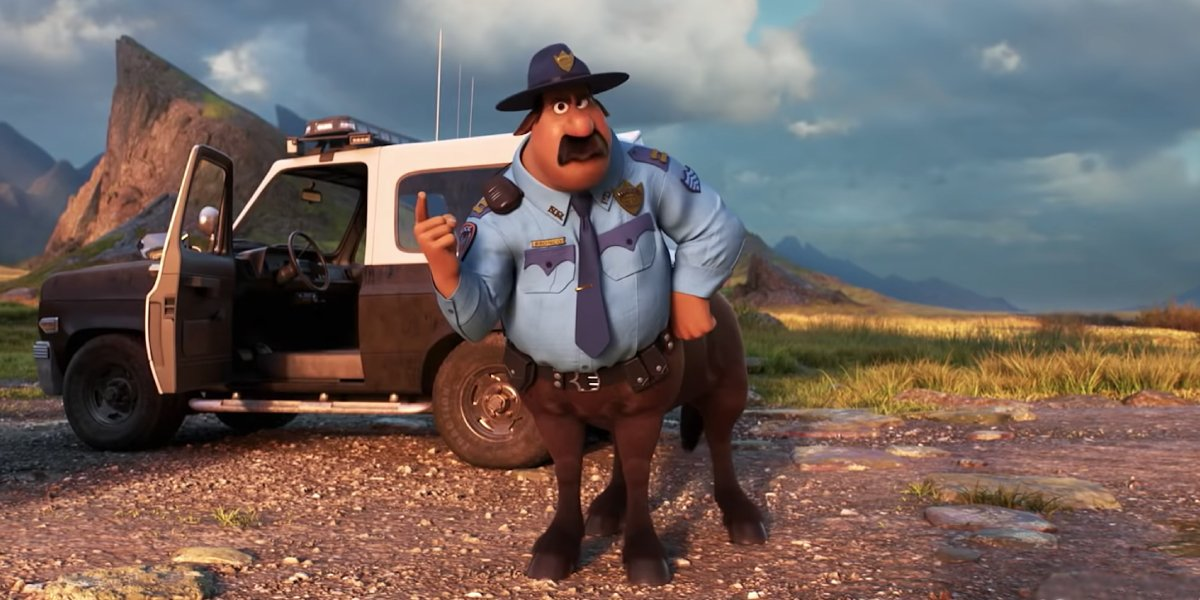 Mel Rodriguez as Officer Colt Bronco in Onward