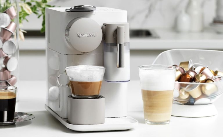Coffee machine sale: Lattissima One Silky White