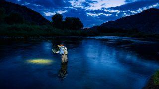 How to go night fishing