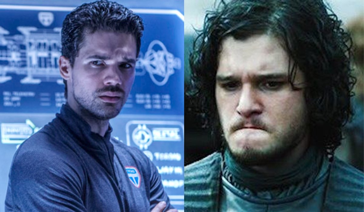 James Holden The Expanse Jon Snow Game of Thrones frowning