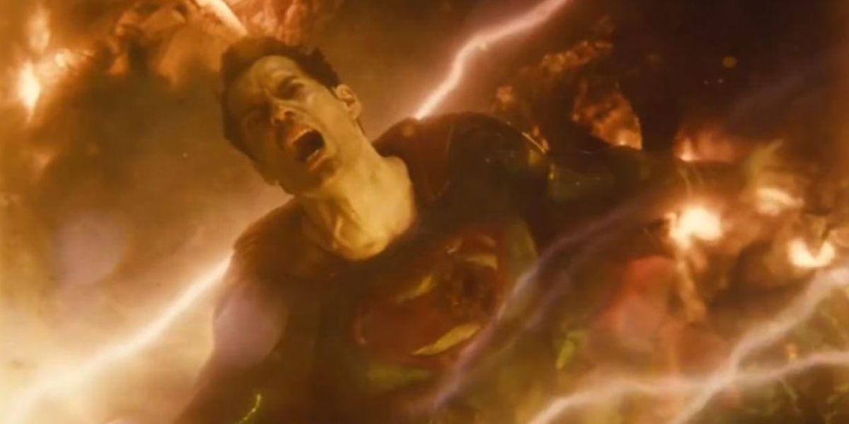 Superman dying in Justice League