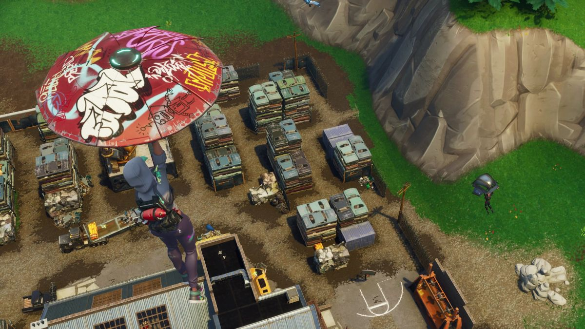 Fortnite Week 9 challenge: Follow the treasure map found in Haunted Hills