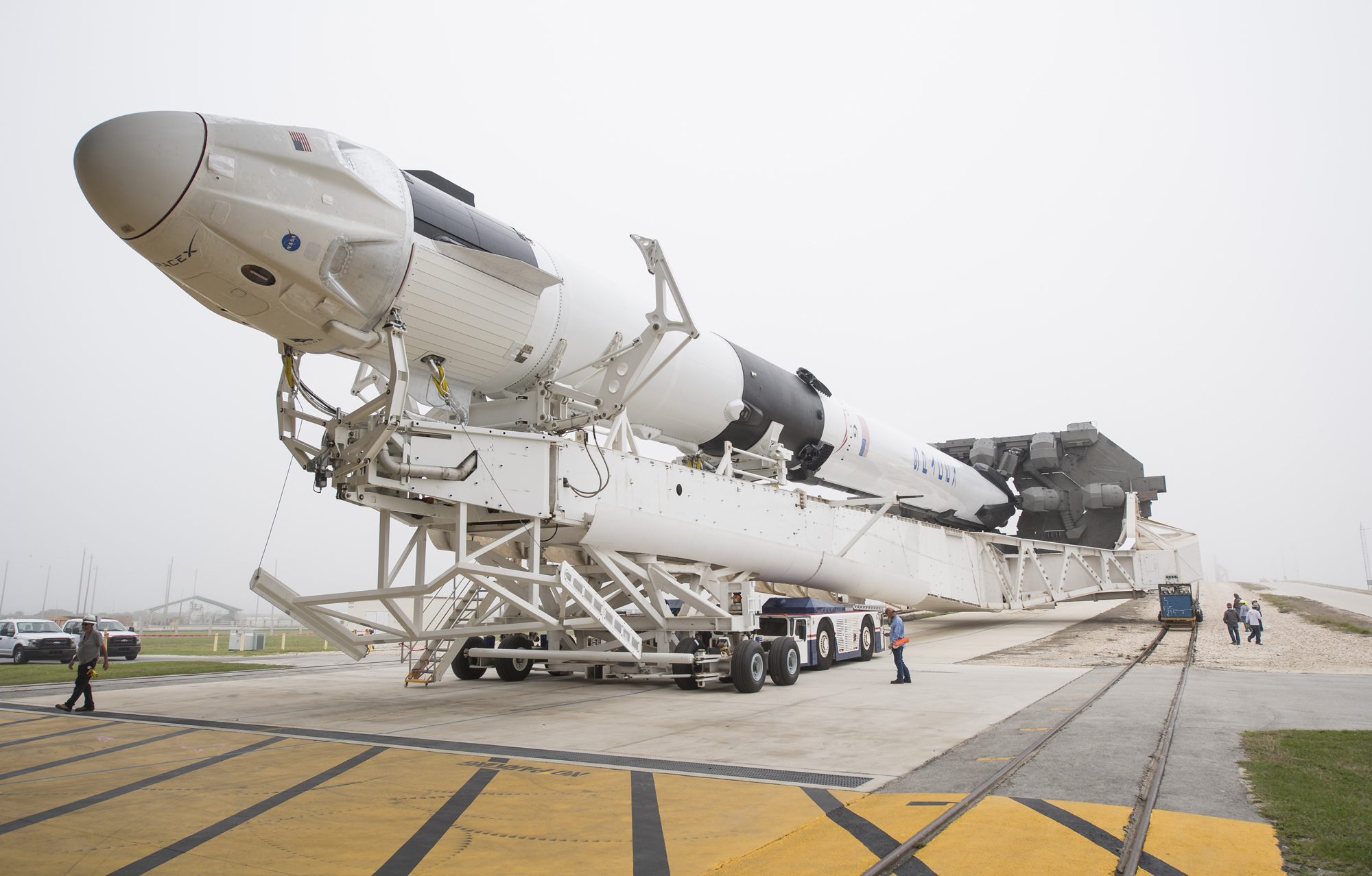 It's Just About 'Go' Time for SpaceX's 1st Crew Dragon Spaceship   Space