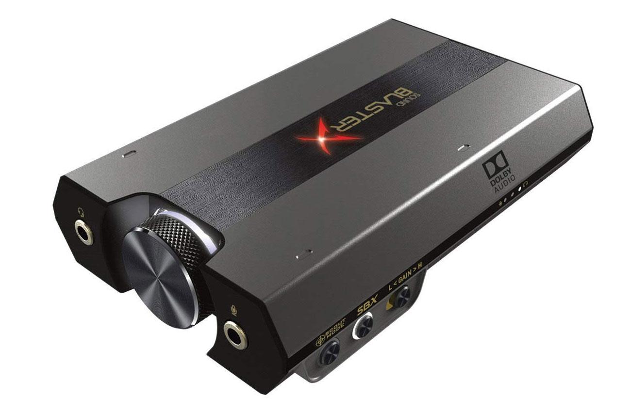 The best USB sound cards: Creative Sound BlasterX G6