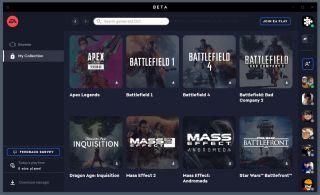 A screenshot of the EA Desktop app.