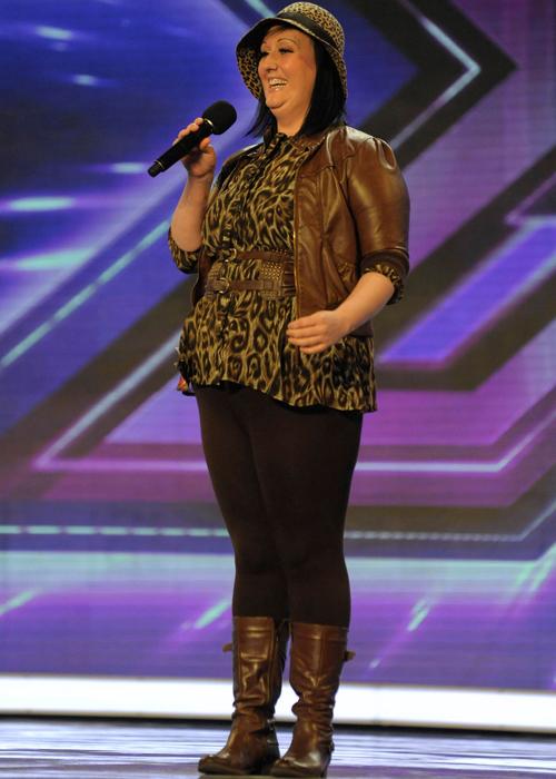 X Factor 2011: Barmaid Samantha steals the show!