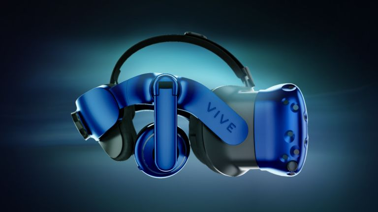HTC Vive Pro is the best and bluest VR headset yet