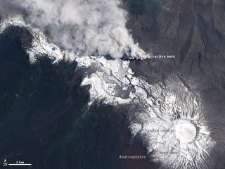 Chile's Puyehue-Cordon Caulle Volcano