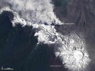 Chile's Puyehue-Cordon Caulle Volcano