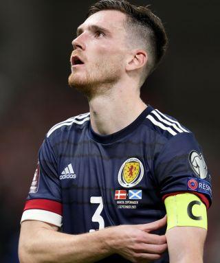 Denmark v Scotland – FIFA World Cup 2022 – European Qualifying – Group F – Parken Stadium
