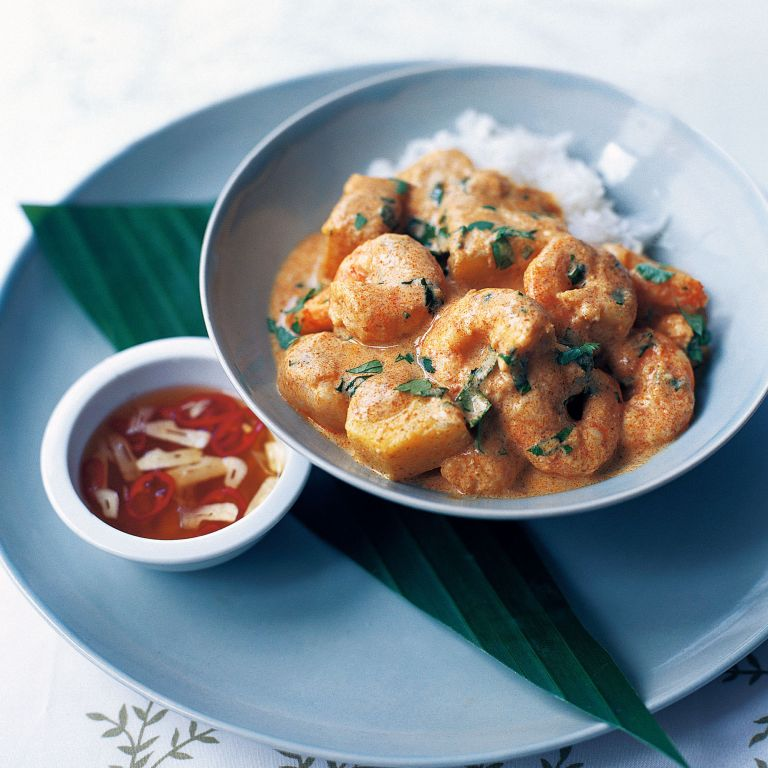 Thai Prawn Curry with Lychees and Pineapple recipe-recipe ideas-new recipes-woman and home