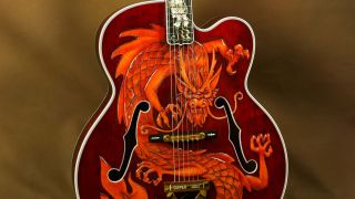 Gibson China Dragon Super 400 archtop guitar