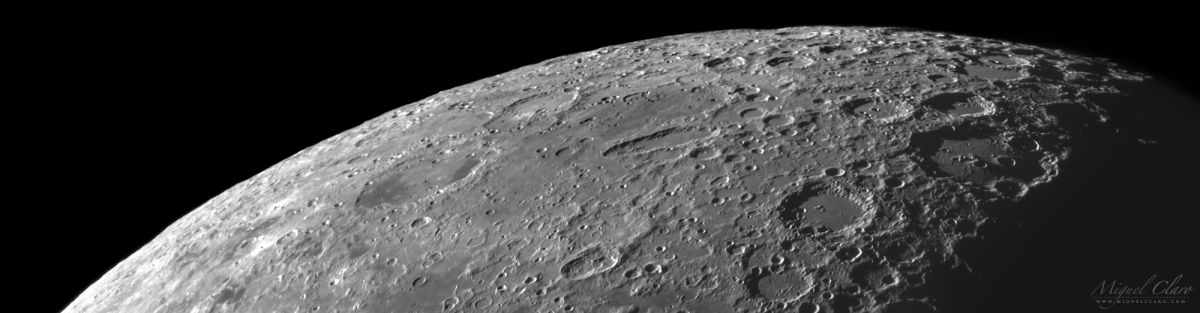 Panoramic 'Moonscape' Reveals Craters of the Lunar South Pole (Photo)