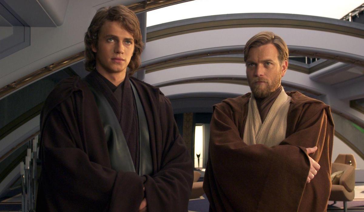 Anakin Skywalker and Obi-Wan Kenobi in Revenge of the Sith