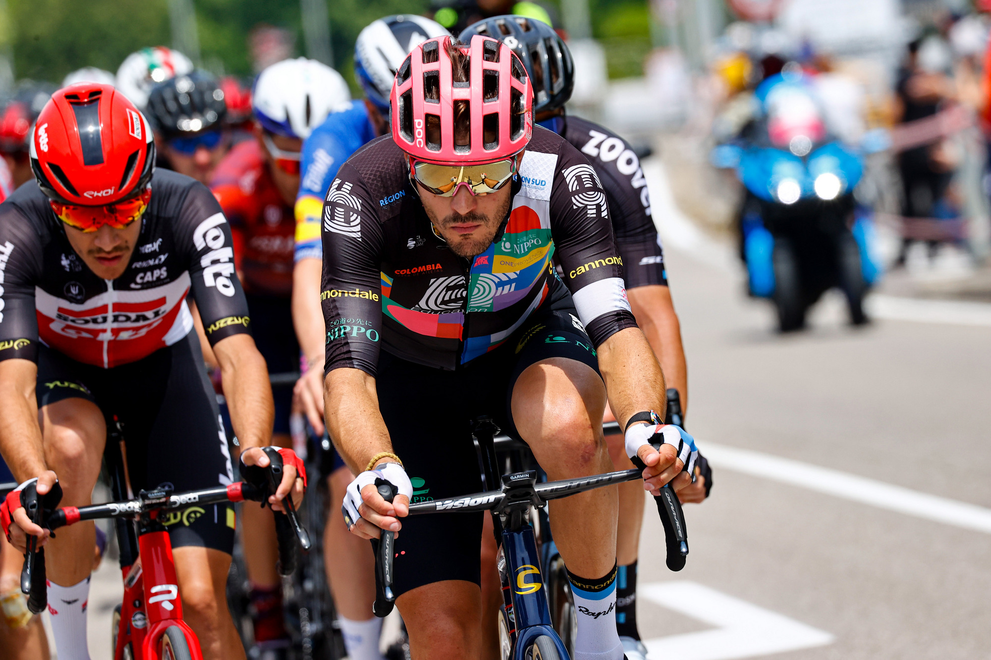 Giro d Italia 2021 104th Edition 18th stage Rovereto Stradella 231 km 27052021 Alberto Bettiol ITA EF Education Nippo photo Luca BettiniBettiniPhoto2021