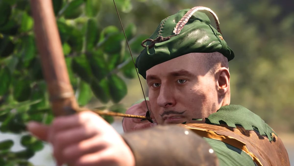 SCUM is going a bit Robin Hood with its impressive archery system
