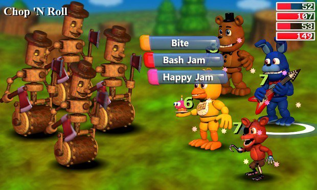 Five Nights At Freddy's World Screenshots Introduce Friends And Foes  #35127