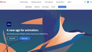 Adobe Animate Website