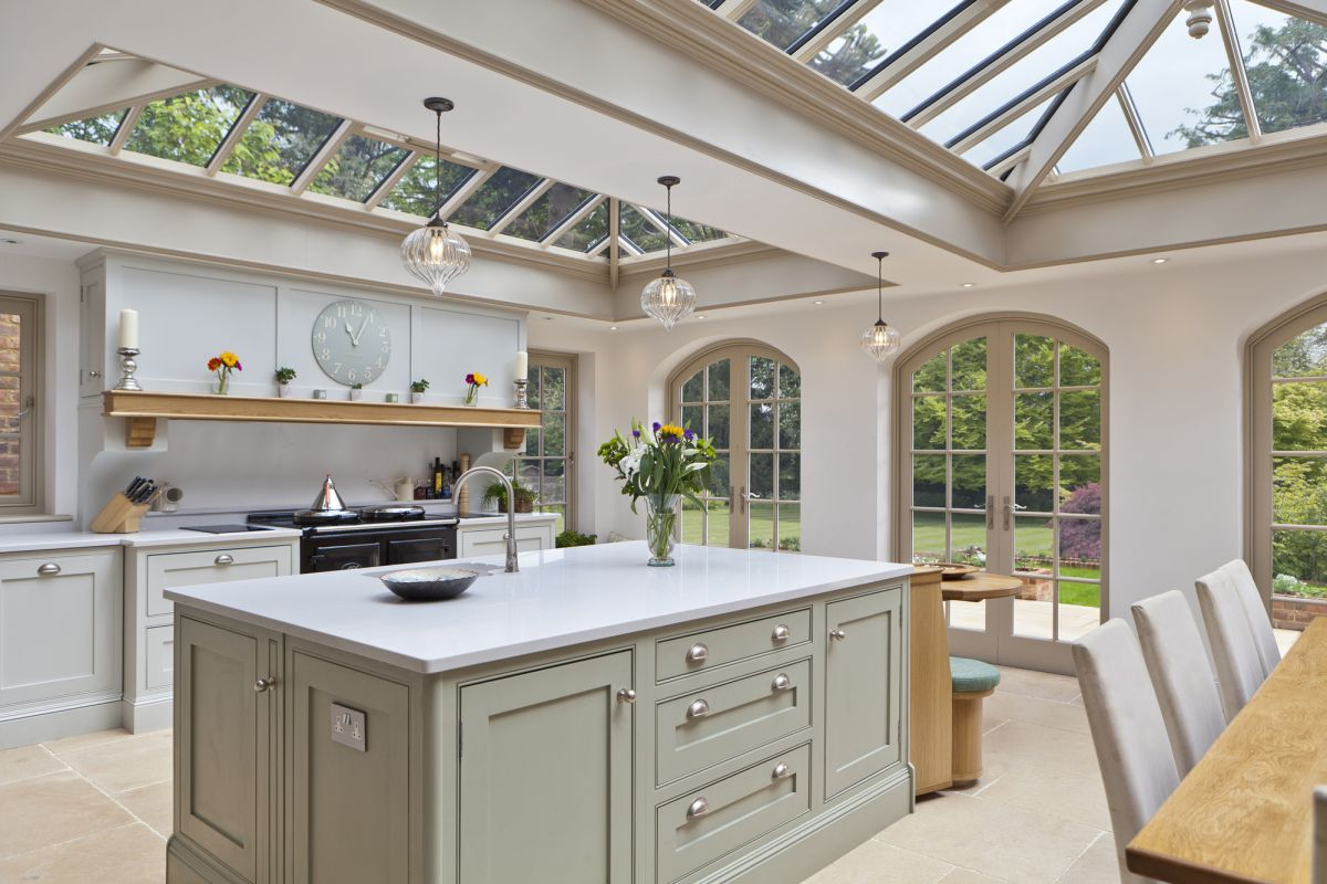 Kitchen Conservatory Extensions: 8 Design Ideas for Highly Glazed Additions