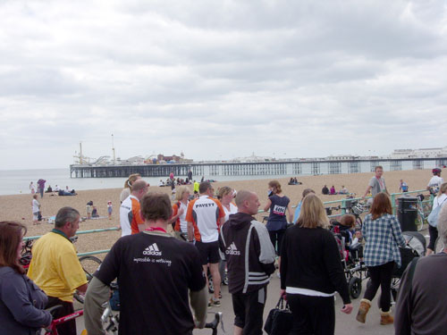 Brighton finish, London to Brighton 2010
