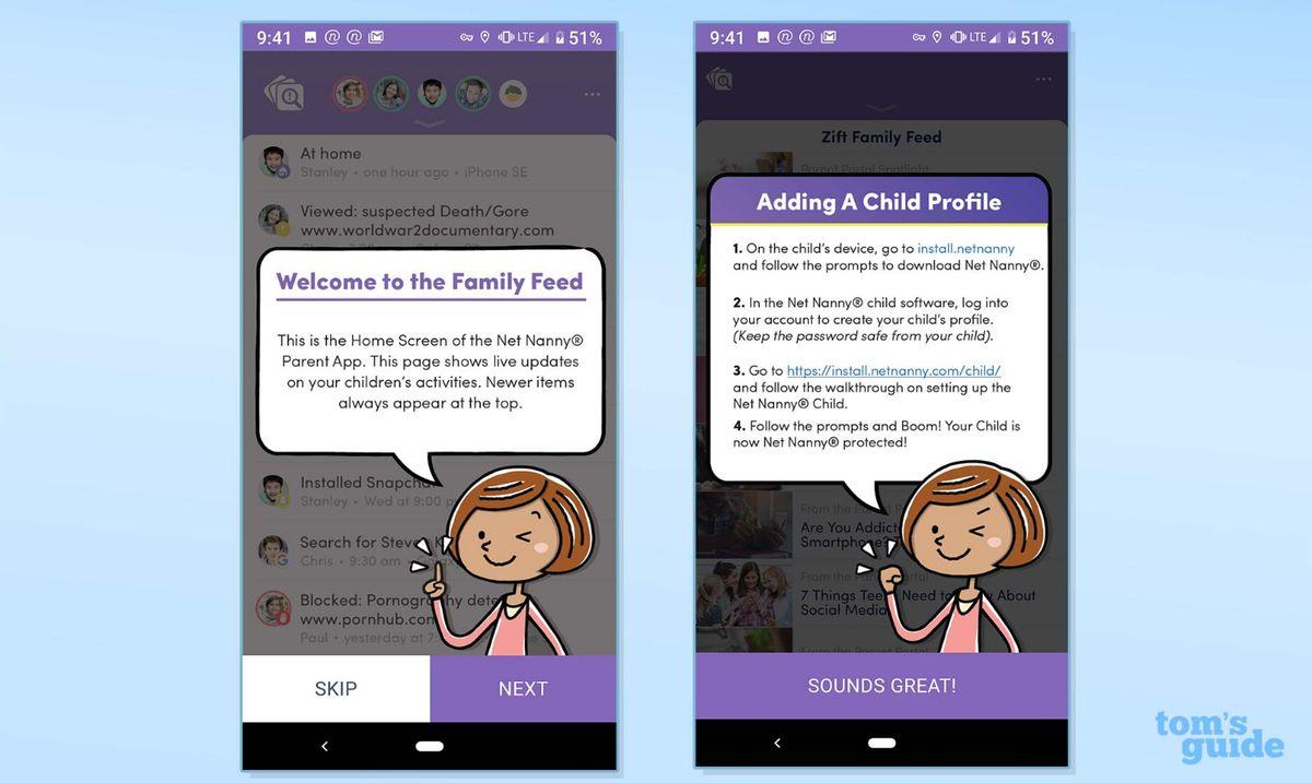 Net Nanny Parental-Control App Review: Best for iOS   Tom's