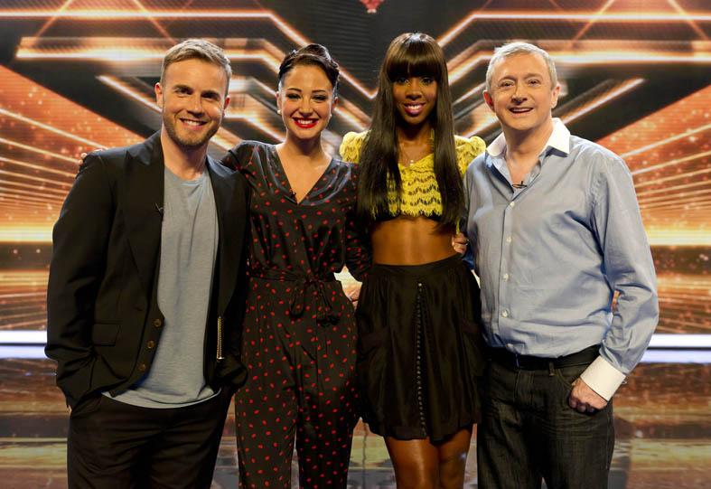 X Factor judges set for 2012 pay rise