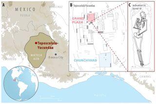 Teposcolula-Yucundaa Map