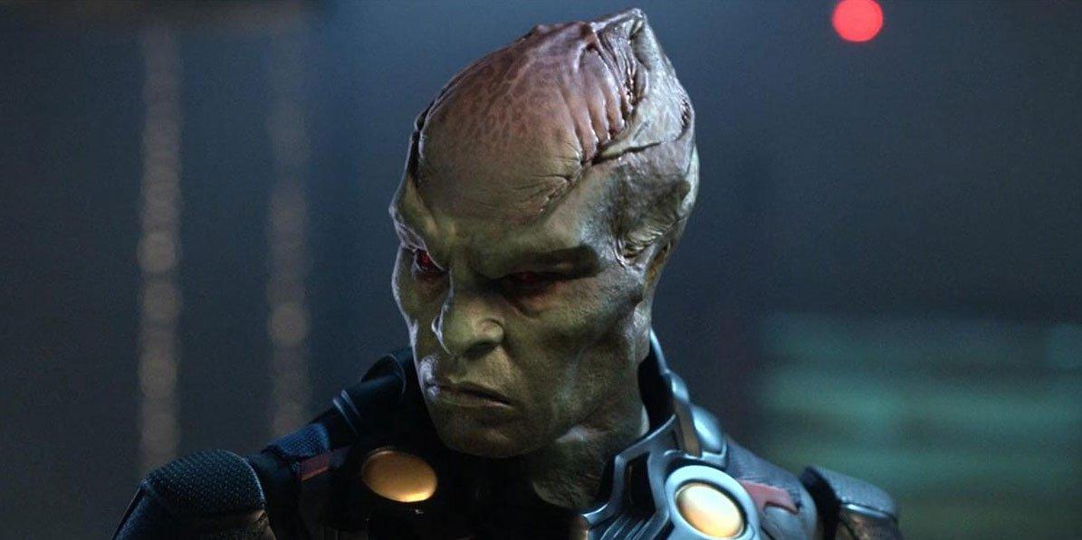 David Harewood as Martian Manhunter on Supergirl