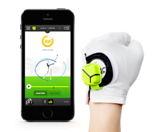 The Zepp Golf Swing Analyzer.
