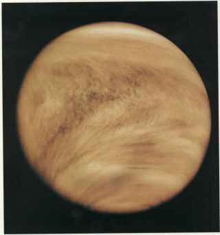 Odd Cloud Formations on Venus