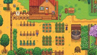 Your home in Stardew Valley