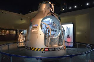 Mission to the Edge of Space Exhibition Space Center Houston