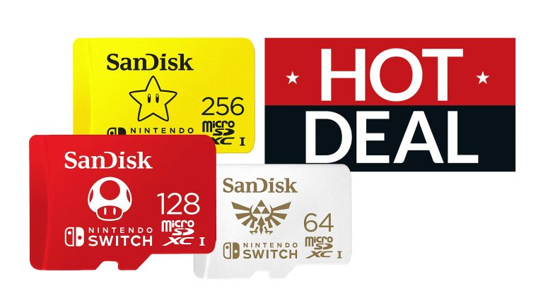 Switch microSD card deal