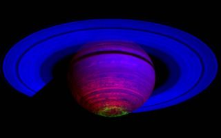 Composite Image of Saturn