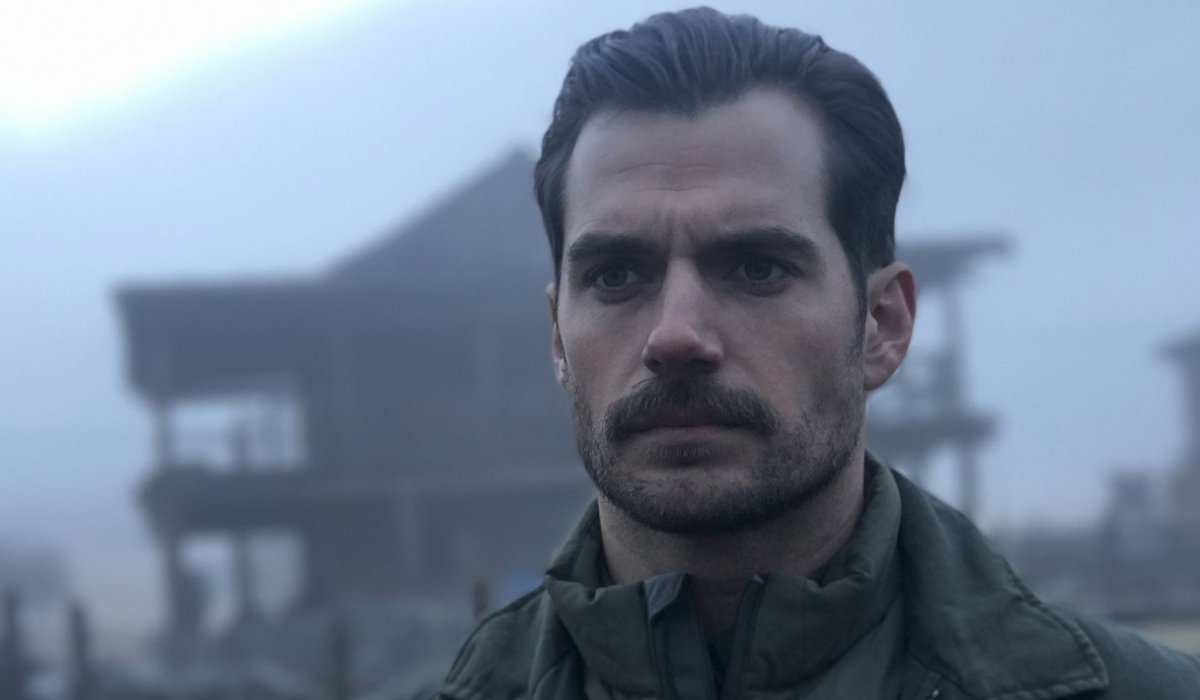 Mission: Impossible - Fallout Henry Cavill scowling in the fog