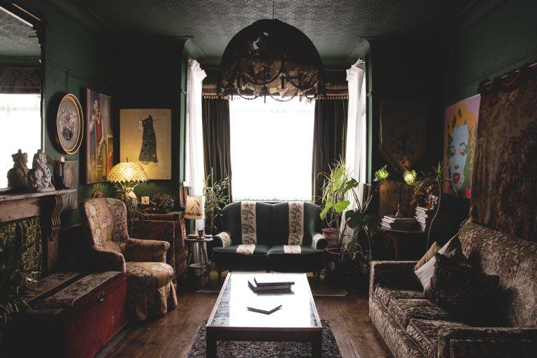 Cassie Nicholas living room