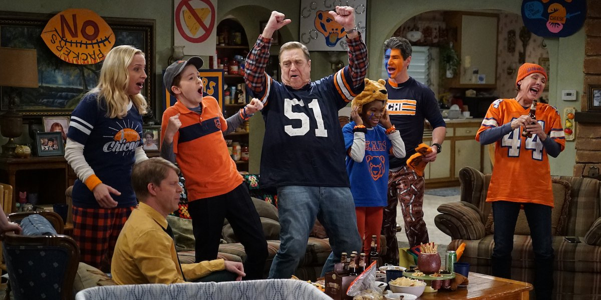 the conners cast football celebration abc