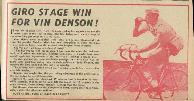 50 years since vin denson 39 s historic 1966 giro d 39 italia for Hearst magazines italia stage