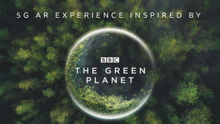 BBC The Green Planet logo.