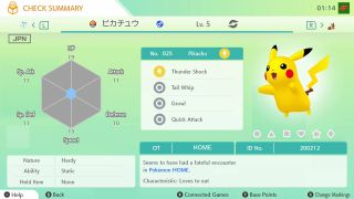 Pokemon Home delivers a free Pikachu