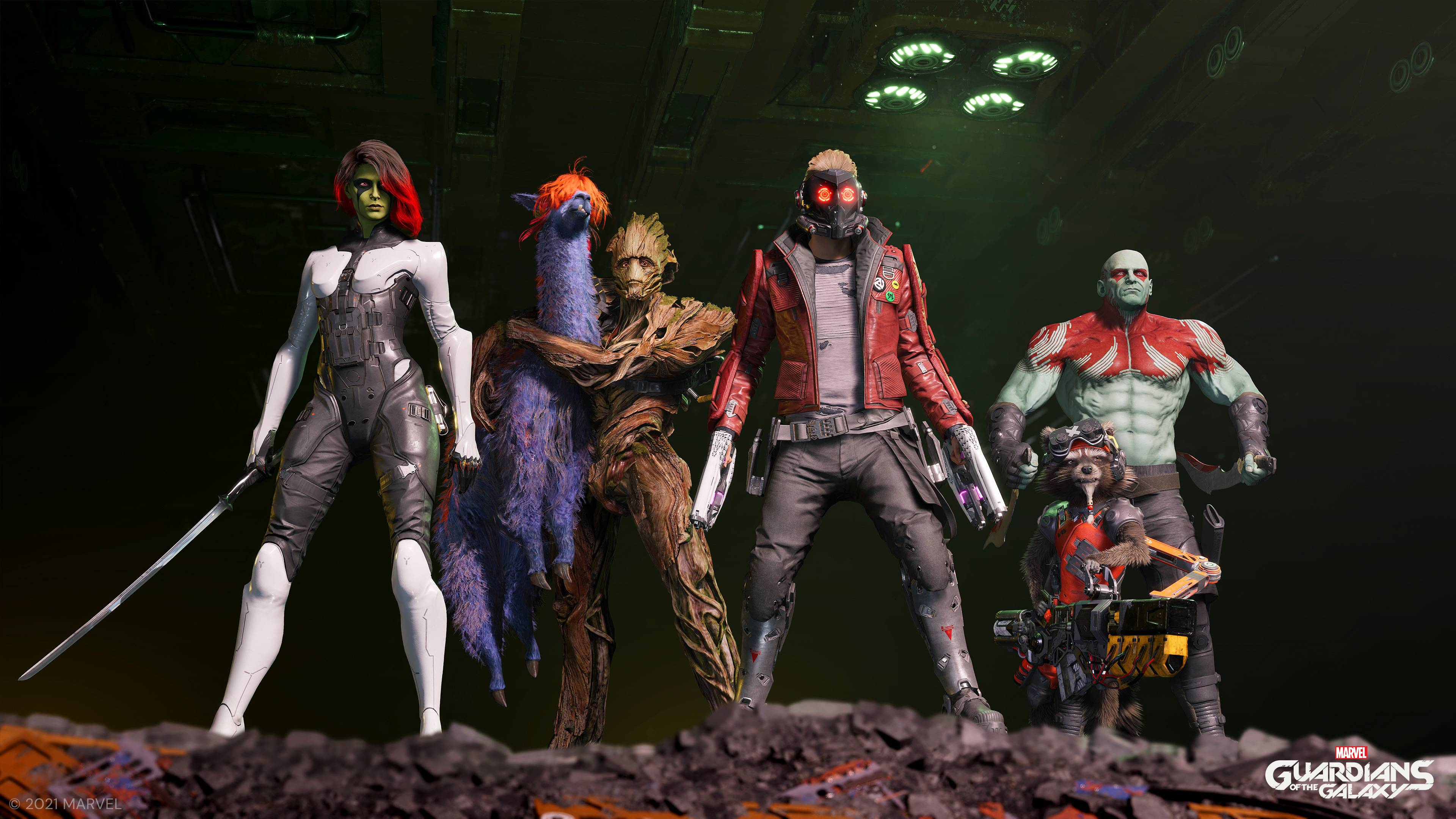 Guardians of the Galaxy members