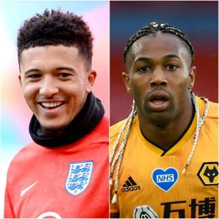 Jadon Sancho and Adama Traore
