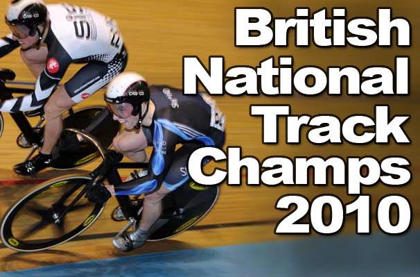 British National Track Championships 2010 logo