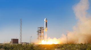 New Shepard First Test Flight