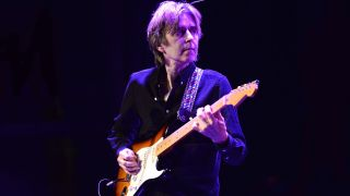 Guitarist Eric Johnson performs on stage at The Canyon Club on January 25, 2015 in Agoura Hills, California.