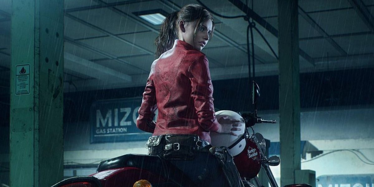 Claire Redfield arrives in Raccoon City in Resident Evil 2 Remake