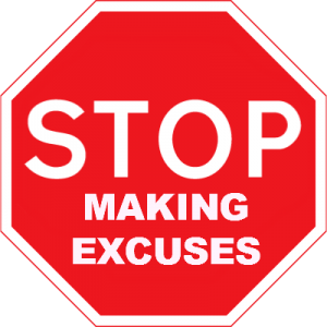 From the Principal's Office: Excuses Hold Us Back