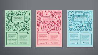 Supple Studio ads for recycled paper stock