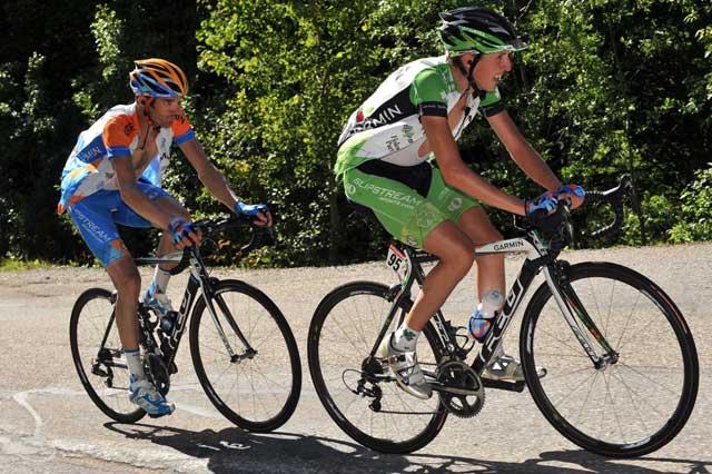 Dan Martin David Millar Dauphine Libere 2009 stage 7